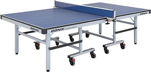 Donic Waldner Classic 25 Placa de Tenis de Mesa, Unisex Adulto, 400221040, Silbergrau-Blau, Talla única: Amazon.es: Deportes y aire libre