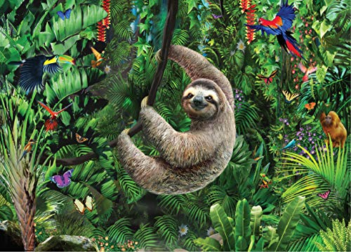 Pdf Humor Sloth 1,000 Piece Jigsaw Puzzle