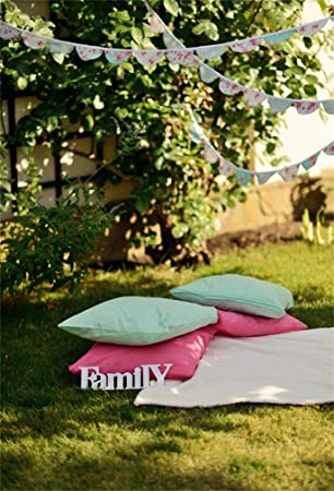 Amazoncom Csfoto 6x8ft Background For Four Pillows Picnic Blanket