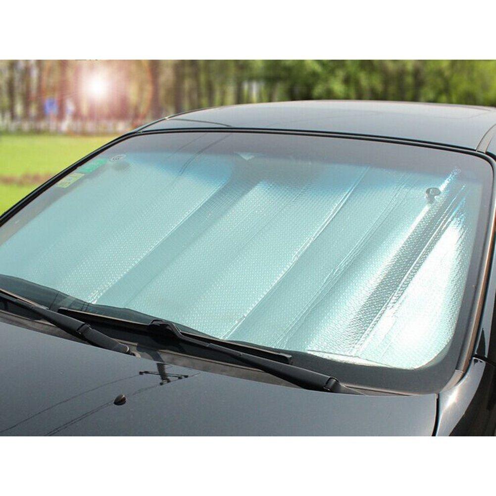 Pour pare-brise avant ou arri/ère WINOMO Pare-soleil r/éfl/échissant pour voiture en feuille daluminium