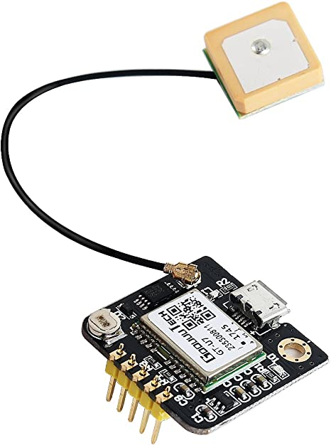 Jolicobo GT-U7 GPS Receiver Module Navigation Satellite Microcontroller GPS Compatible NEO-6M 51 microcontroller STM32 Arduino with an Active Antenna