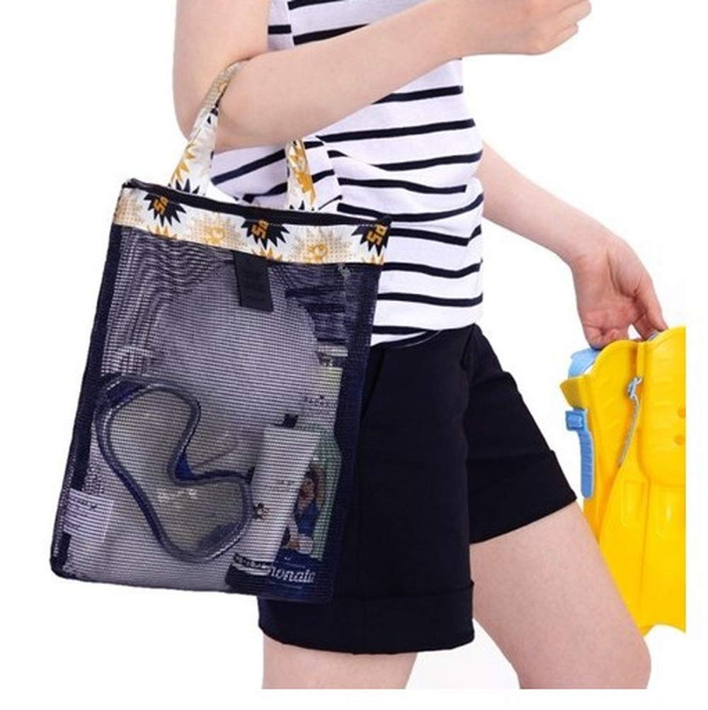 New 1pcs Travel Portable Beach Outdoor Multifunction Storage Bags Bathroom Mesh Organizer Bags
