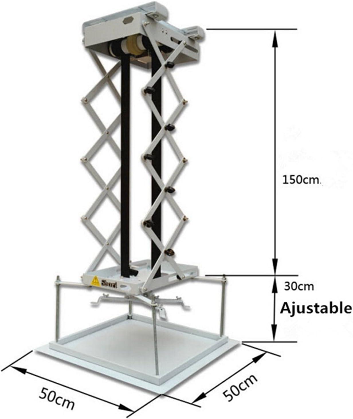Soporte de proyector eléctrico motorizado de 1,5 m con elevador y ...