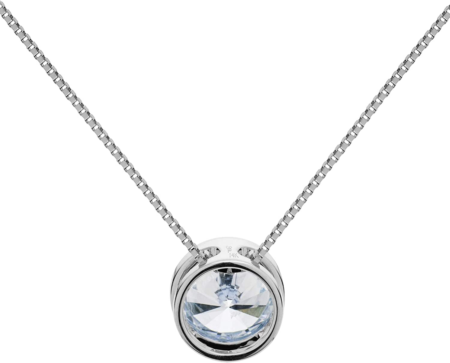 Certified 1.00 Round Cut Lab Created Diamond  14k Genuine White Gold  Ring 101418k Gold Pendant Sterling Sliver Ring