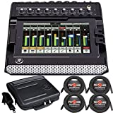 Mackie DL1608 Digital Mixer w/ Lightning + Bag + Cables Bundle
