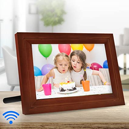 Amazoncom Icozy Digital Touch Screen Wi Fi Enabled Picture Frame