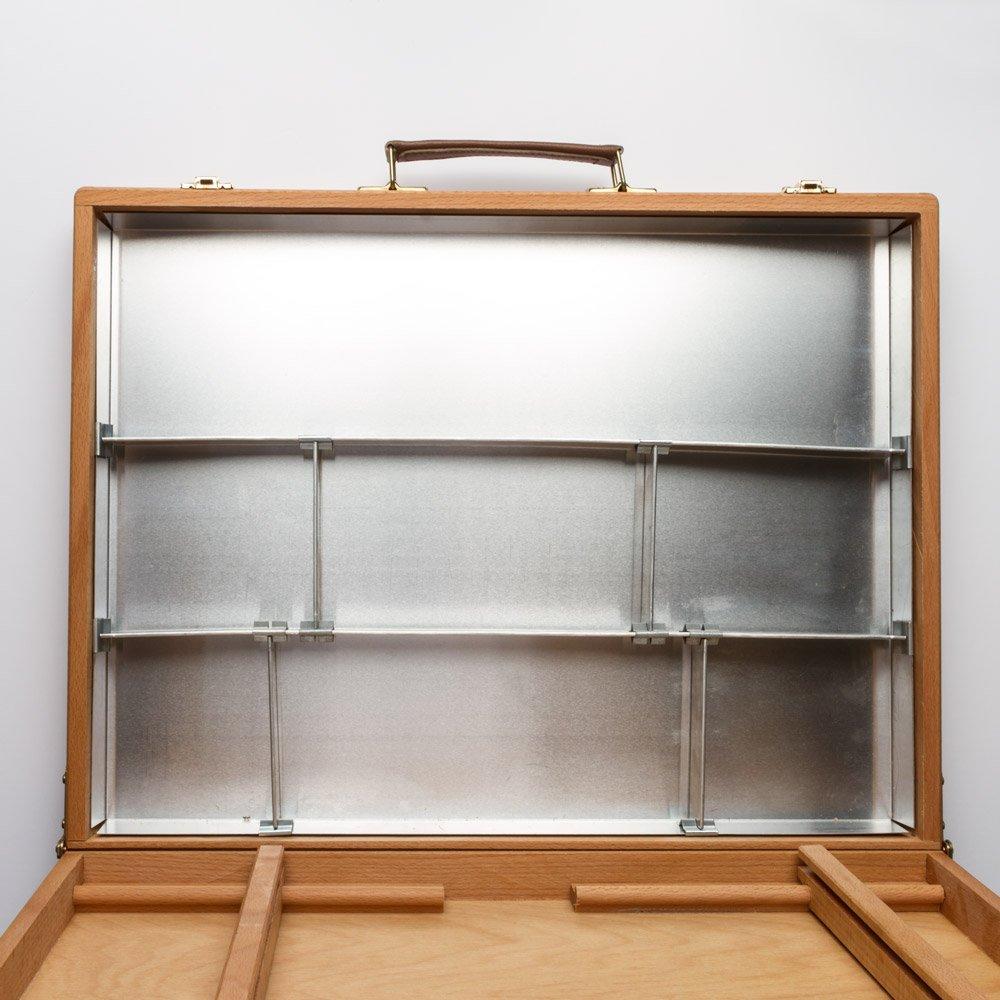 Mabef  Künstler Box 18 x 14 in (Strafraum Abmessungen geschlossen) B005RW3L52 | Verschiedene Arten und Stile