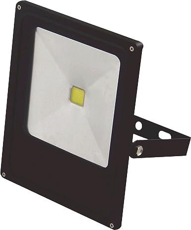 LYO Proyector LED Integrado, 10 W, Negro: Amazon.es: Iluminación