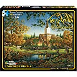 White Mountain Puzzles Exclusive Collection - Sunday Morning by Terry Redlin ...