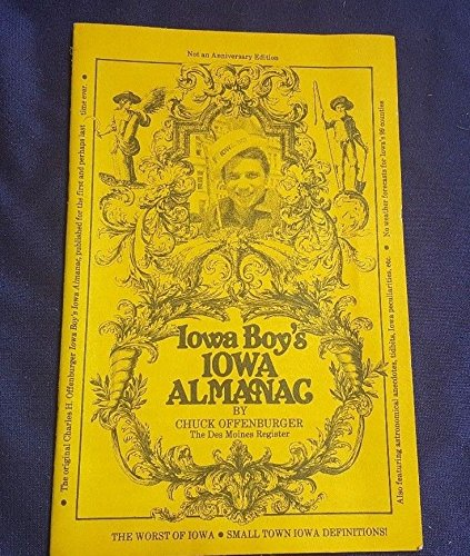 Vintage Iowa Boys Almanac By Chuck Offenburger From Des Moines Register