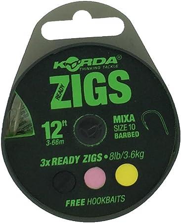 Barbed Korda Ready Tied Zig Rigs