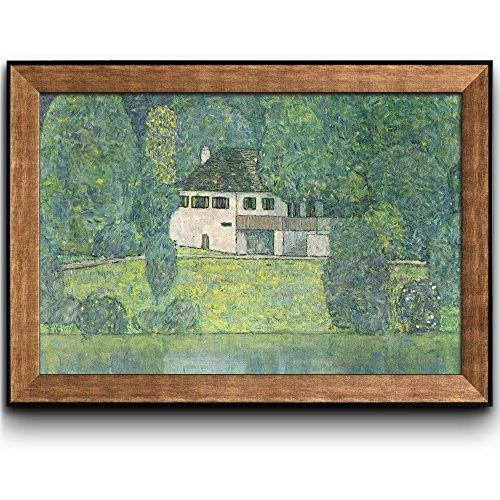 House Near a River by Gustav Klimt Framed Art