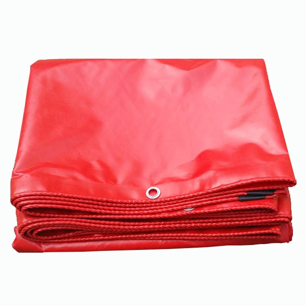 JIANFEI オーニング 防水耐寒性サンスクリーン環境保護無毒性PVC厚さ0.42mmカスタマイズ可能 (色 : Red, サイズ さいず : 4.8x5.8m) B07FW2Q2TN 4.8x5.8m|Red Red 4.8x5.8m