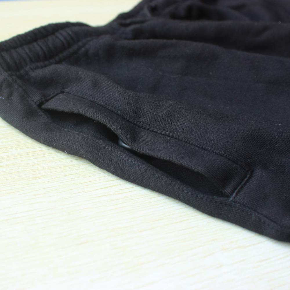 Musclealive Invierno Hombres Culturismo Trousers Deportivos Ocio Activo Holgado Deporte Aptitud Los Pantalones