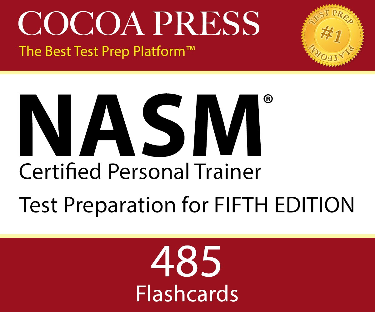 Nasm Certified Personal Trainer Flashcards Fifth Edition By Cocoa
