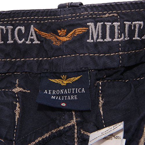 Pant Blu 0239t Militare Aeronautica Bermuda Bimbo Short Kid Cotone HP1xw0w