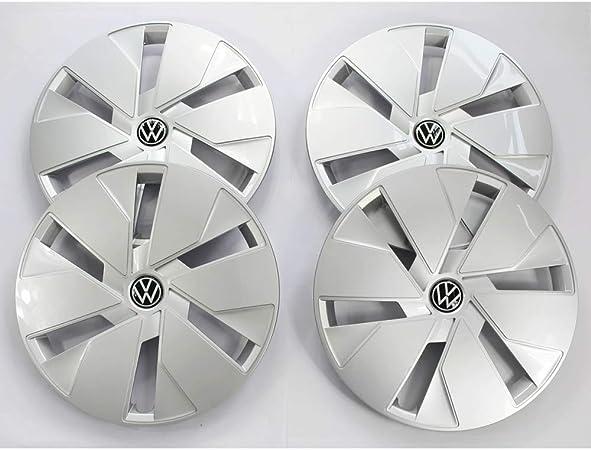 Volkswagen 10a071458wzf Radkappen 4 Stück Radzierblende Stahlfelgen 18 Zoll Radblenden Silber Auto