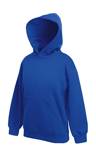 Fruit of the Loom - Sudadera - Manga Larga - para hombre Azul azul real Talla