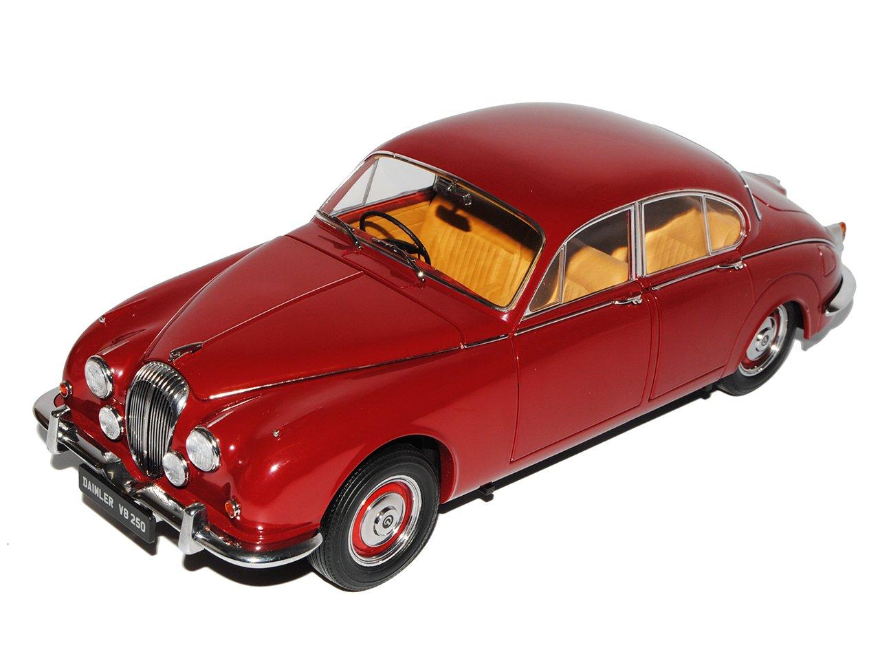 Unbekannt Daimler V8 250 Rechtslenker Rot Braun 1962-1969 1/18 Paragon Modell Auto