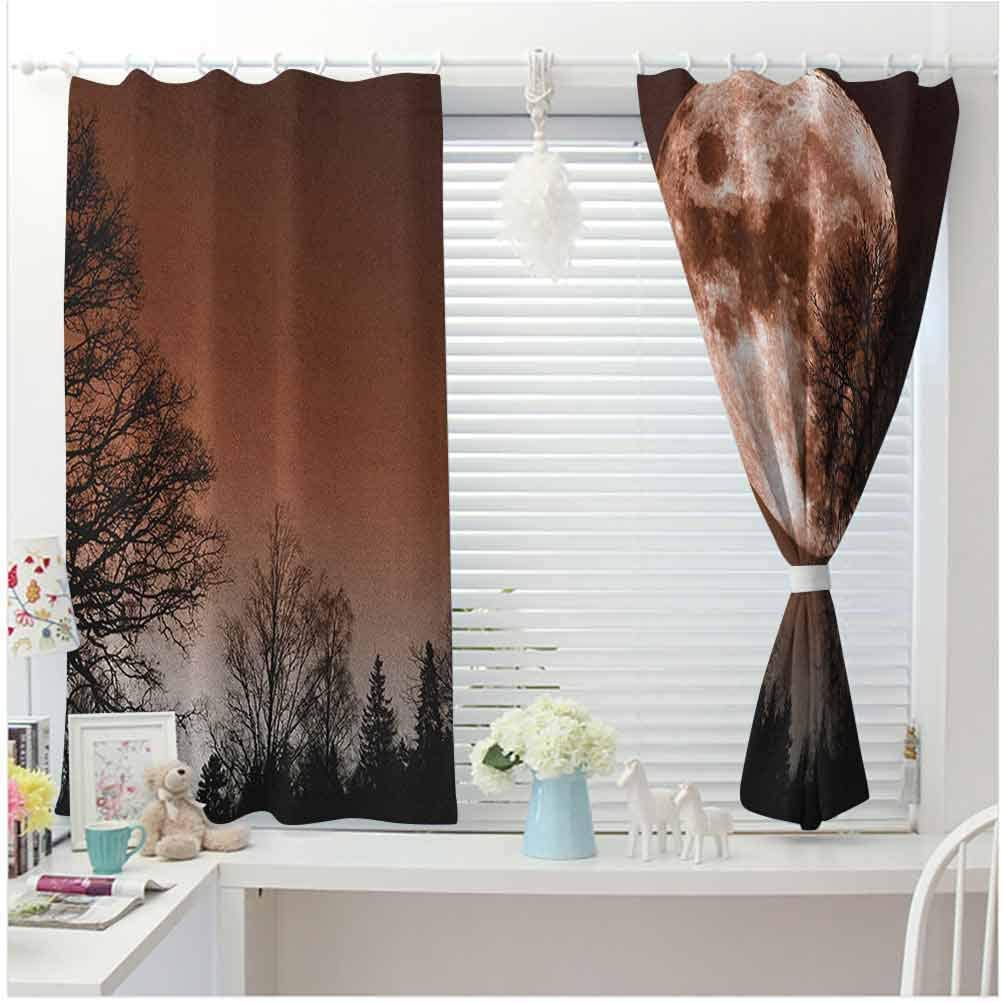 Money Ultra Luxurious Curtains Pixel Art Inspirations in Eighties Style Dollar Sign Banking Business Home Decoration Thermal Insulated Room Darkening Drape Dark Green Lime Green W104 X L63 Inch