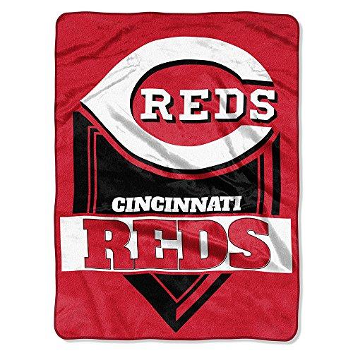 - The Northwest Company MLB Cincinnati Reds Royal Plush Raschel Throw, One Size, Multicolor