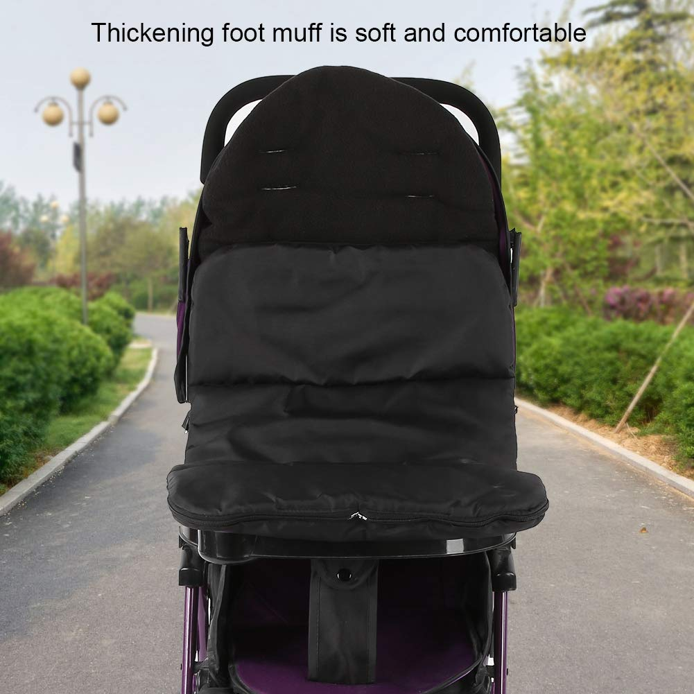 Multifunctional Warm Oxford Windproof Dustproof Stroller Footmuff for Winter Autumn Outdoors Blue Baby Foot Muff