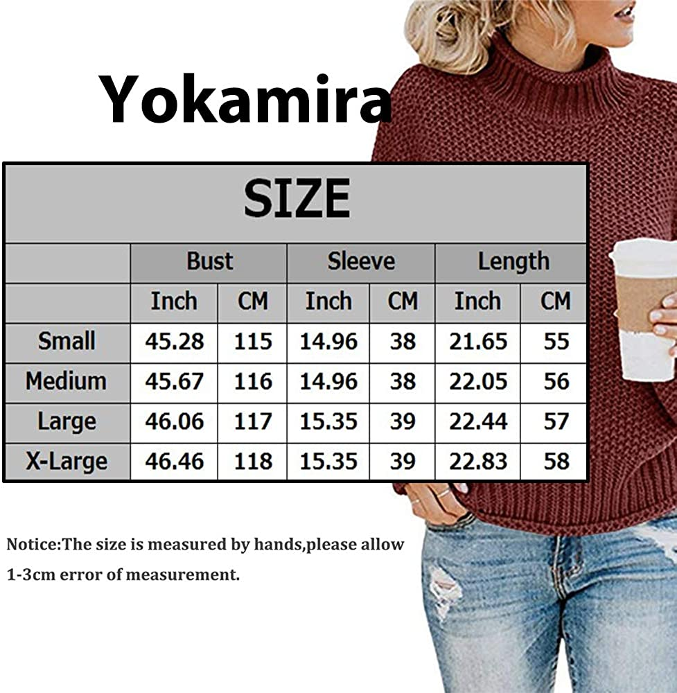 Womens Crew Neck Long Sleeve Solid Color Knit Sweater Casual Pullover Jumper Tops