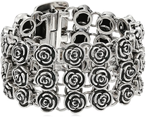 King-Baby-Heartbreaker-Rose-Chainmail-Bracelet