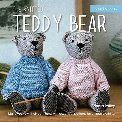Free simple teddy bear knitting pattern make your little for Make your own teddy bear template