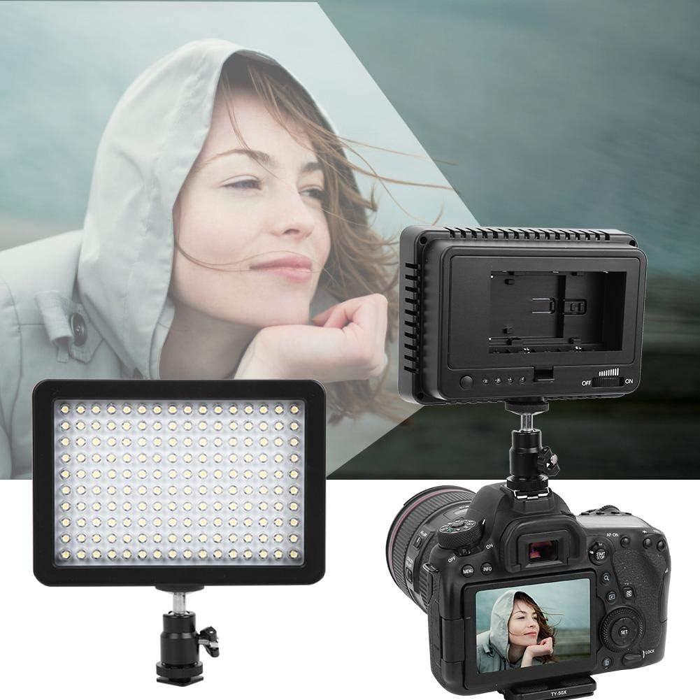 Mugast Photography Fill Light,W160 6000K Color Temperature Video Photography Lamp LED Video Photography Light Lamp Panel,Suitable for DSLR Camera DV Camcorder