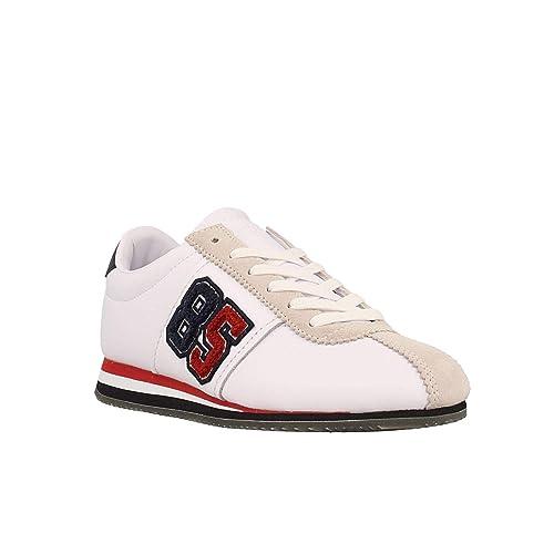 Zapatillas TOMMY HILFIGER EN0EN00371 100 White: Amazon.es: Zapatos y complementos