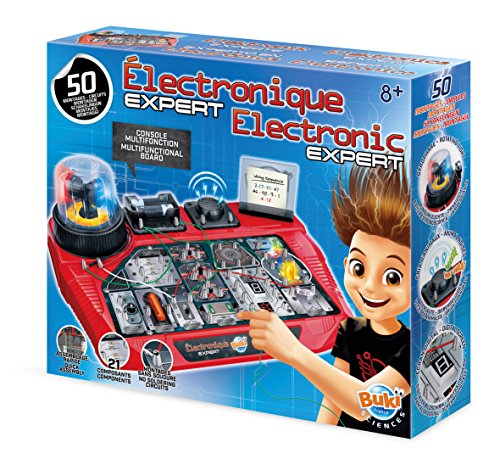 (Buki Electronics Expert Basic Circuit Board Building Kit for Kids Age 8 and Over)