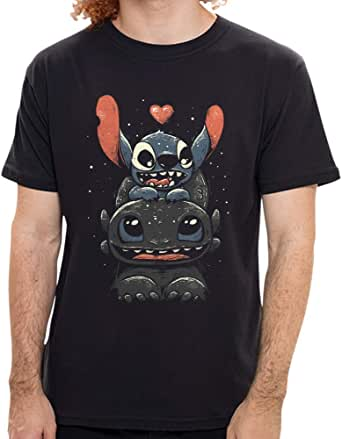 Camiseta Banguela E Stitch, Nerd Universe, Masculina, G