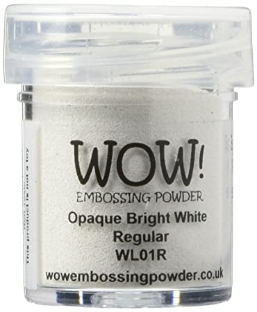 Image result for wow embossing powder opaque white