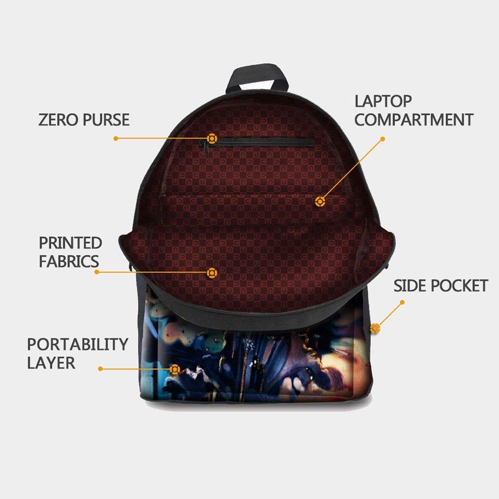 HUGS IDEA 3D Shark Backpack Set Boys Blue School Book Bag Lunch Bags Pencil Case 3 in 1 by HUGS IDEA (Image #5)