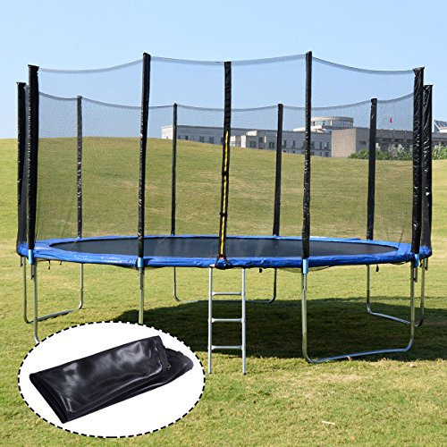 Trampoline Springs Walmart: Giantex 15FT Trampoline Combo Bounce Jump Safety Enclosure