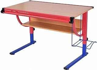 Adjustable Wooden Drafting Table Workstation Drawing Desk