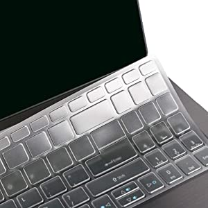 """FORITO Ultra Thin Keyboard Cover Compatible with 15.6"""" Acer Aspire 5 Slim Laptop A515-43 A515-54 A515-54G / 15.6"""" Acer Swift 3 SF315 -TPU"""