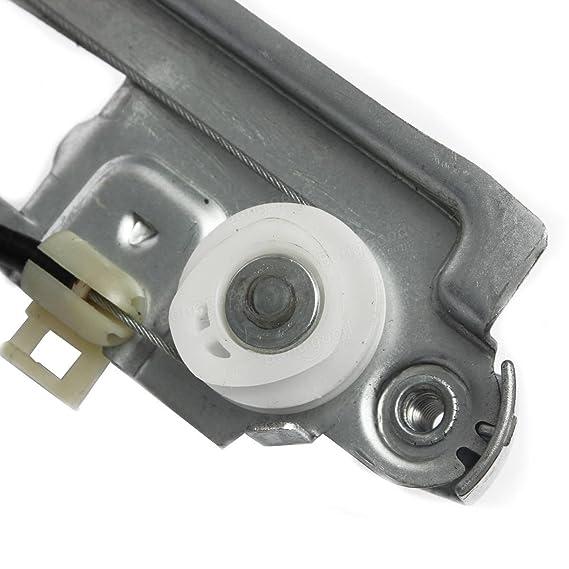 adaalen frontal izquierda completa Regulador de Ventanilla eléctrico para Renault Megane 2 II HATCHBACK: Amazon.es: Coche y moto