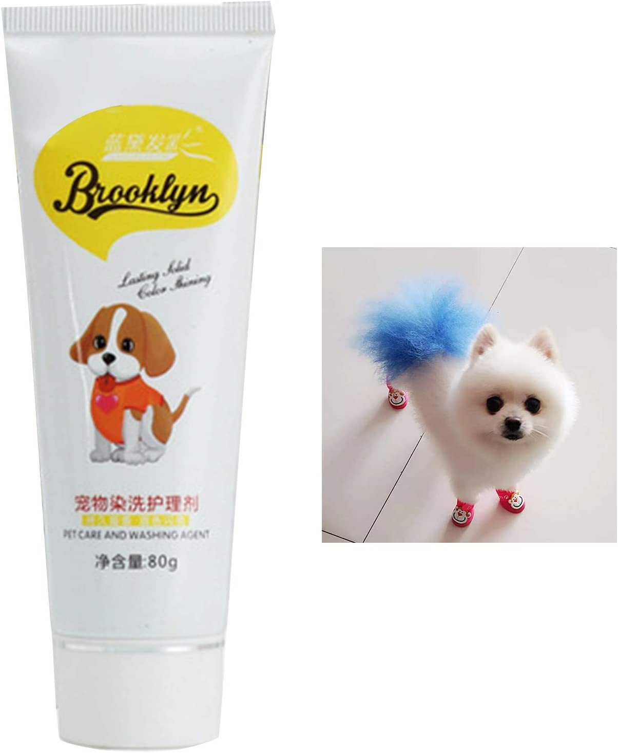 SunYueY Ropa para Mascotas, Tinte para El Cabello para Perros ...