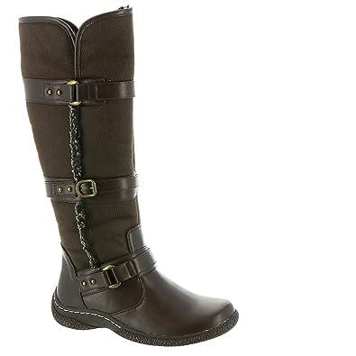 989e27a77f0d Wanderlust Gabrielle 2 Wide Calf Women s Boot 6 B(M) US Brown
