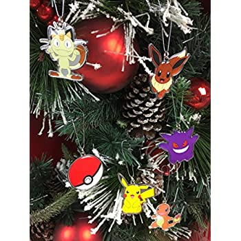 Amazon.com: Pokemon Pikachu Decorative Ornament # 25: Home ...