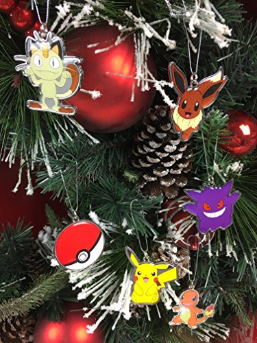 Nintendo Pokemon Christmas Ornaments]()