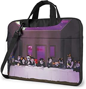 Funnyy Homestuck Multifunctional Laptop Bag Portable One Shoulder Shockproof Backpack Black