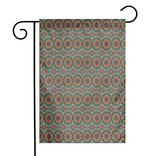 funkky Mandala Garden Flag Mystical Chinese Design Premium Material 12