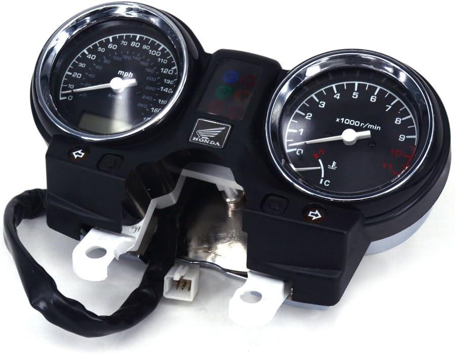 Ysmoto Motorrad Tacho Messgerät Tachometer Kilometerzähler Tacho Meter Tacho Messgerät Für Honda Cb900 Hornet 900 Cb919f 2002 2007 02 07 Motorrad Street Bike Auto