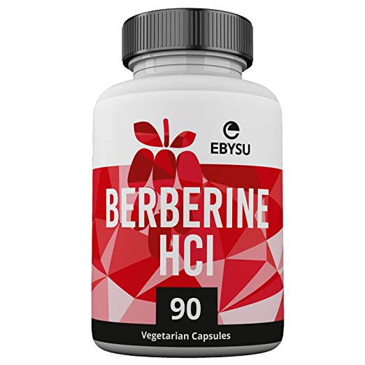 EBYSU Vegan Berberine HCl Supplement