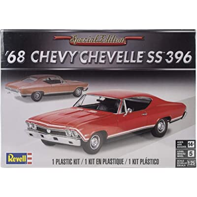 Plastic Model Kit-'68 Chevelle Ss 396 1:25: Toys & Games