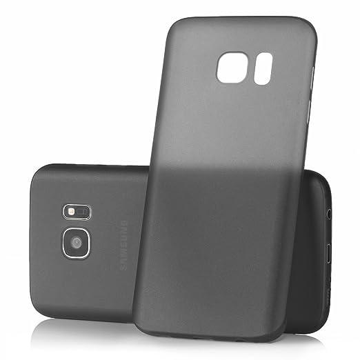 63 opinioni per Ultra Thin Case MC24® per Samsung Galaxy S7 in nero- sottile custodia protettiva