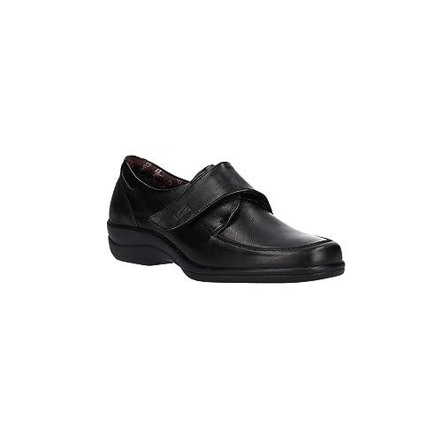 20cfeb52 Zapato FLUCHOS 6629 SANOTAN Negro: Amazon.es: Zapatos y complementos